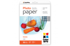 ColorWay Matte Photo Paper, 50 sheets, 10x15, 190 g/m