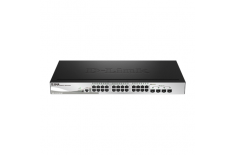 D-Link Metro Ethernet Switch DGS-1510-28L/ME Managed L2, Rack mountable, 1 Gbps (RJ-45) ports quantity 24, SFP ports quantity 4,