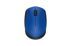 Logitech M171 Black, Blue, Yes, Wireless Mouse,