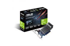 ASUS 710-2-SL / NVIDIA GeForce GT 710 / PCI-E2.0 / DDR3 2GB / 64-bit / Core 954MHz / Memo 1800MHz / D-Sub/DVI-D / HDMI / HDCP su