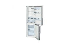 Bosch KGE36AI32 Refrigerator/3Drawers/H186/Fridge 214/Freezer 88L/EC A++/bigBox/Hyper fresh/Supercooling/Inox