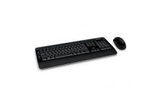 Microsoft PP3-00023 WrlssDsktp3050 with AES USB Eng IN CD Multimedia, Wireless, Keyboard layout EN, US International