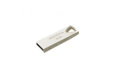 ADATA FlashDrive UV210 8GB Metal Golden USB 2.0 Flash Drive, Retail ADATA UV210 8 GB, USB 2.0, Silver