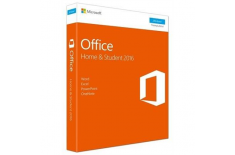 Microsoft 79G-04638 Office Home and Student 2016, Full packaged product (FPP), Lithuanian, Medialess