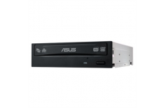 Asus DRW-24D5MT Internal, Interface SATA, DVD RW, CD read speed 48 x, CD write speed 48 x, Black, Desktop