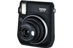 Fujifilm Instax Mini 70 camera+ Instax mini glossy (10) Black, 0.3m -