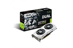 ASUS DUAL-GTX1070-O8G / NVIDIA GeForce GTX 1070 / 256bit / Core 1607MHz / Memo 8008MHz / 8GB GDDR5 / DVI-D / HDMI 2.0 / DP / HDC