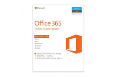 Microsoft 6GQ-00684 Office 365 Home Full packaged product (FPP), License term 1 year(s), English, Medialess