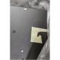 SALE OUT. Hood CATA Podium 600 XGBK Wall mounted, Width 60 cm, 560 m /h, Black Glass / iNOX, Energy efficiency class E, 53 - 63