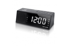 Muse M-172BT Black, AUX in, Clock radio, Alarm function, NFC