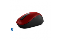 Microsoft Mobile Mouse 3600 PN7-00024 Bluetooth, Black, Red, Wireless