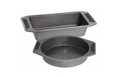 Stoneline Baking pan set 12897 Silver grey, Non-stick coating,