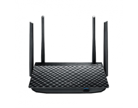Asus Router RT-AC58U 10/100/1000 Mbit/s, Ethernet LAN (RJ-45) ports 4, 2.4GHz/5GHz, Wi-Fi standards 802.11ac, 400+867 Mbit/s, An