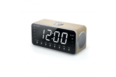 Muse Clock radio M-196CWT Beige, Display : 1.8 inch LED with dimmer