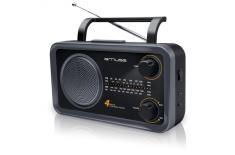 Muse M-05DS Black, 4-band portable radio