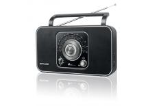 Muse M-068R Black, 4-band portable radio,