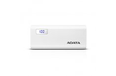 A-Data P12500D 12500 mAh, White, Lithium-Ion