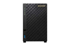 Asus Asustor Tower NAS AS3102T up to 2 HDD/SSD, Intel Celeron Dual-Core, Processor frequency 1.6 GHz, 2 GB, DDR3L, Black