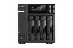 Asus Asustor Tower NAS AS6204T up to 4 HDD/SSD, Intel Celeron Quad-Core, Processor frequency 1.6 GHz, 4 GB, DDR3L, Black
