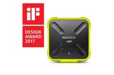 ADATA External SSD SD700 256 GB, USB 3.1, Black/Yellow