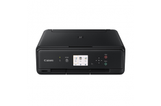 Canon PIXMA TS5050 Colour, Inkjet, Multifuncion Printer, A4, Wi-Fi, Black