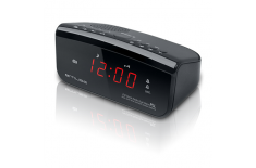 Muse Clock radio PLL M-12CR Black, Alarm function