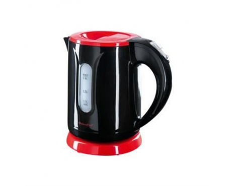 Kettle DomoClip DOD114 Standard kettle, Plastic, Black, 1100 W, 0.8 L, 360 rotational base