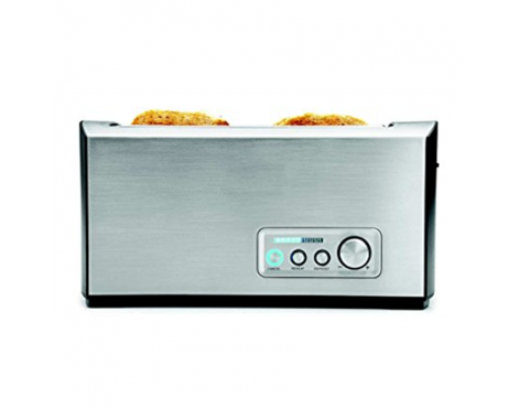 Gastroback Toaster PRO 4S 42398 Stainless Steel/ black, Stainless steel, 1500 W, Number of slots 4, Number of power levels 9, Bu