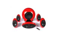 Edifier Speakers red E255 2, 16W 5 (treble) + 20W 5 (mid-range) W