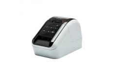 Brother QL-810W Thermal, Label Printer, Wi-Fi, Black, White