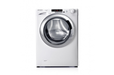 Candy Washing Machine GVS 138DC3-S Front loading, Washing capacity 8 kg, 1300 RPM, A+++, Depth 52 cm, Width 60 cm, White, Displa