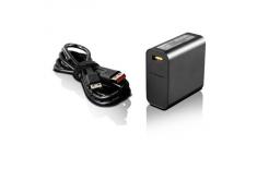 Lenovo Slim Travel GX20K15998 AC Adapter, 65 W, Designed for Lenovo Yoga 700/ Yoga 900, 20 V