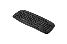 Acme KM10 Wired keyboard, USB, Keyboard layout EN/LT/RU, 610 g, USB, Black