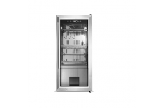 Caso Dry-Aged Cooler 688 Free standing, Food-ageing cabinet with compressor technology, Height 87.5 cm, A, Display, Stainless st