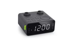 Muse Clock radio PLL M-17CR Black, AUX in