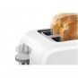 Bosch Toaster TAT3A011 White, Plastic, 980 W, Number of slots 2, Number of power levels 6, Bun warmer included