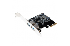 Logilink PC0080,PCI Express Card, 2x USB 3.1, Asmedia AS1142 Logilink USB 3.1 PCI-Express Card, 2-port A-Type PCIe