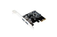 Logilink PC0080,PCI Express Card, 2x USB 3.1, Asmedia AS1142