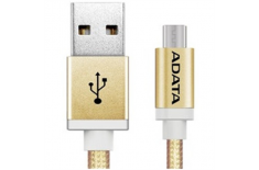 ADATA Sync and Charge Cable Lightning, USB, 1 m, Gold
