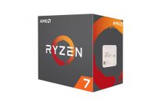AMD Ryzen 7 1700X, 3.4 GHz, AM4, Processor threads 16, PC