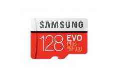 Samsung EVO Plus UHS-I U3 128 GB, MicroSDXC, Flash memory class 10, SD adapter