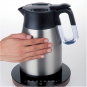 Gastroback Electric Kettle 42426 With electronic control, Stainless Steel, Stainless Steel, 2200 W, 1.7 L, 360 rotational base