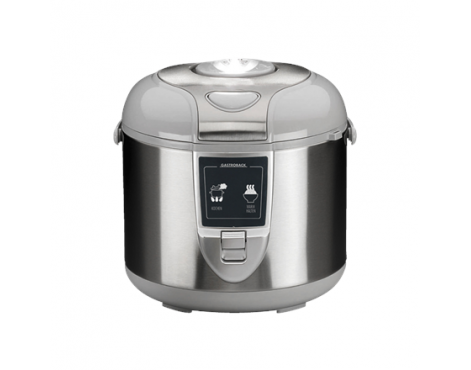 Gastroback Mechanical Rice Cooker 42518 Silver, 700 W, Functions Suitable for cooking rice, vegetables, slurries, also suitable