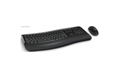 Microsoft Comfort Keyboard 5050 PP4-00019 Keyboard and mouse, Wireless, Keyboard layout EN, Mouse included, English, 829 g, USB,