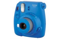 Fujifilm Instax Mini 9 camera + Instax mini glossy (10) Cobalt Blue, 0.6m -