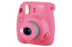 Fujifilm Instax Mini 9 camera + Instax mini glossy (10) Flamingo Pink, 0.6m -