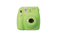 Fujifilm Instax Mini 9 camera + Instax mini glossy (10) Lime Green, 0.6m -