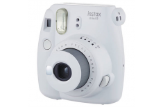 Fujifilm Instax Mini 9 camera + Instax mini glossy (10) Smoky White, 0.6m -