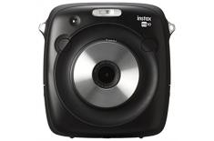 Fujifilm instax SQUARE SQ10 camera + instax mini glossy (10pl) 2.4 x, Black, 0.1m - , 3.0