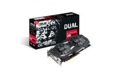 Asus DUAL-RX580-O4G AMD, 4 GB, Radeon RX 580, GDDR5, DVI-D ports quantity 1, HDMI ports quantity 2, PCI Express 3.0, Memory cloc